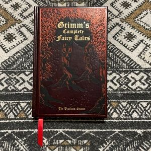 Grimm's Complete Fairy Tales hardcover book